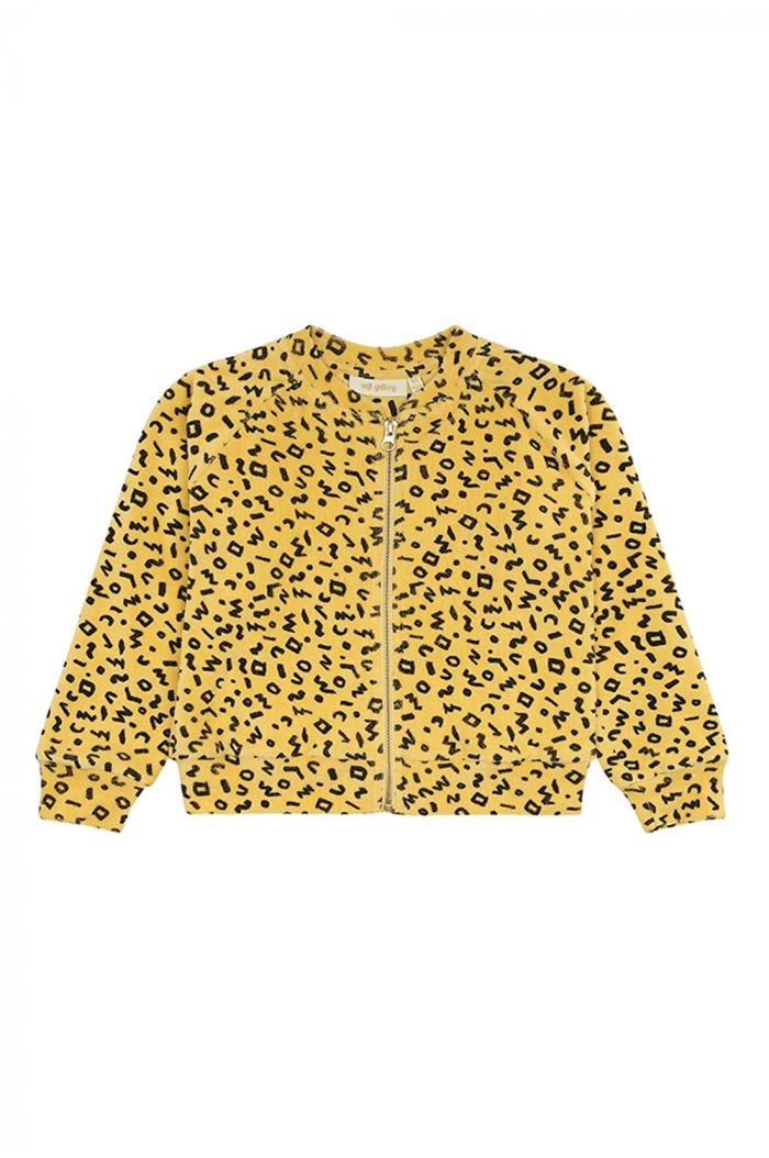 Soft Gallery Ann Jacket, Mimosa All-over print Scribble