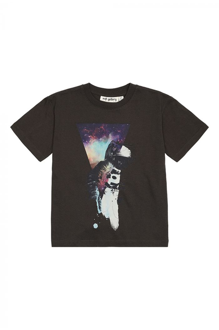 Soft Gallery Asger T-shirt, Peat Spaceman