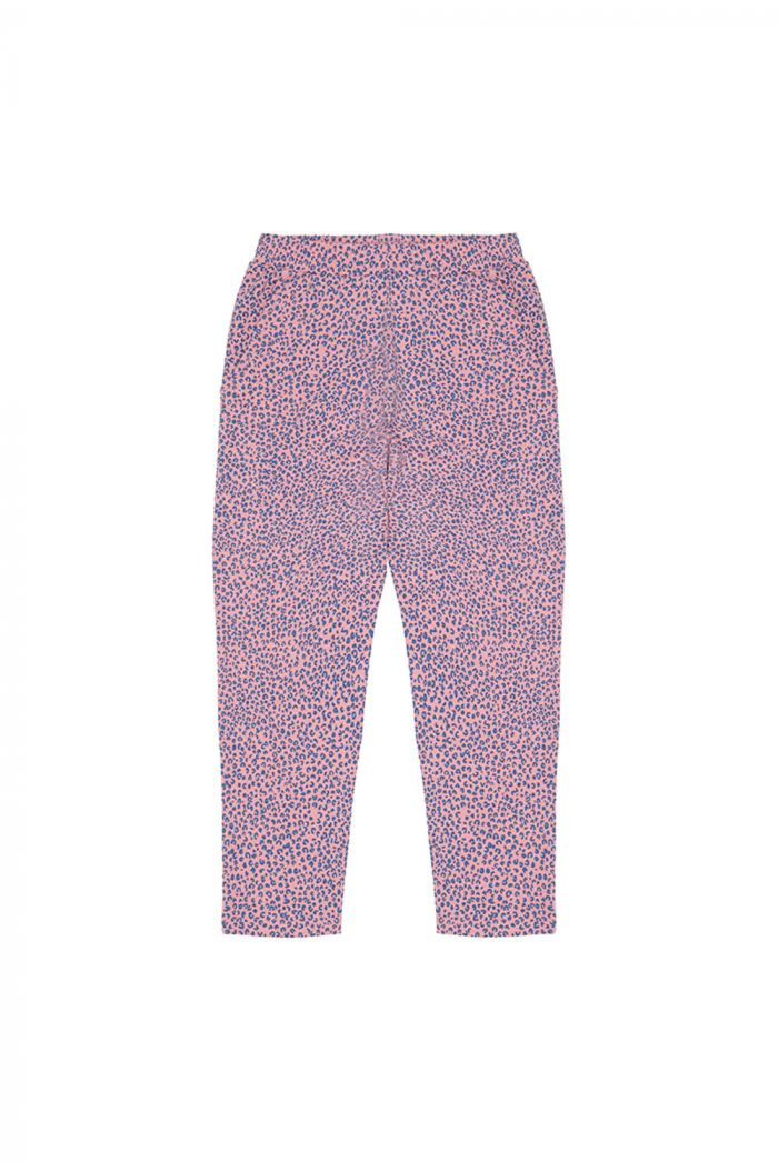 Soft Gallery Deliah Pants, Pink Icing All-over print Leospot