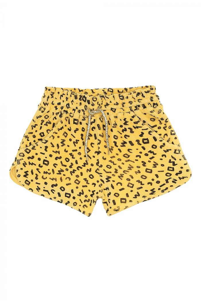 Soft Gallery Cera Shorts, Mimosa All-over print Scribble