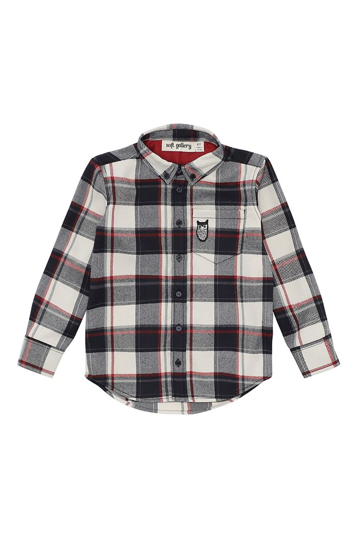 Soft Gallery Bentley Shirt RBW Check