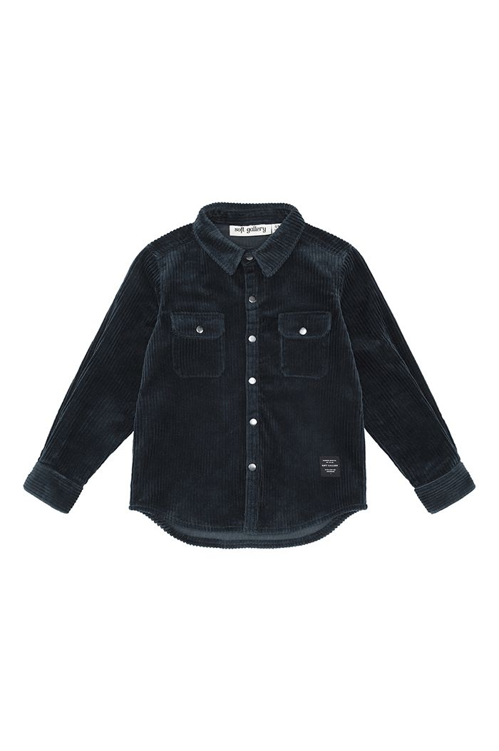 Soft Gallery Enrico Shirt Blueberry