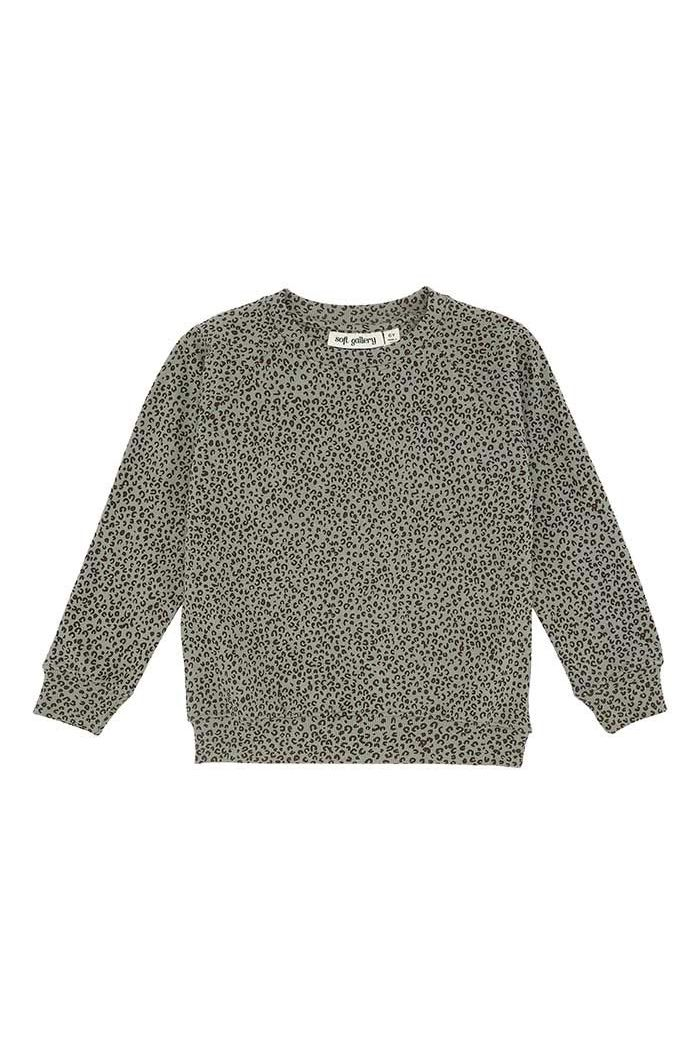 Soft Gallery Chaz Sweatshirt Shadow, All-over print Leospot