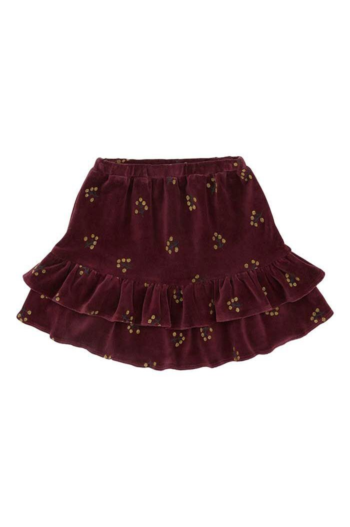 Soft Gallery Kids Fern Skirt Tawny Port