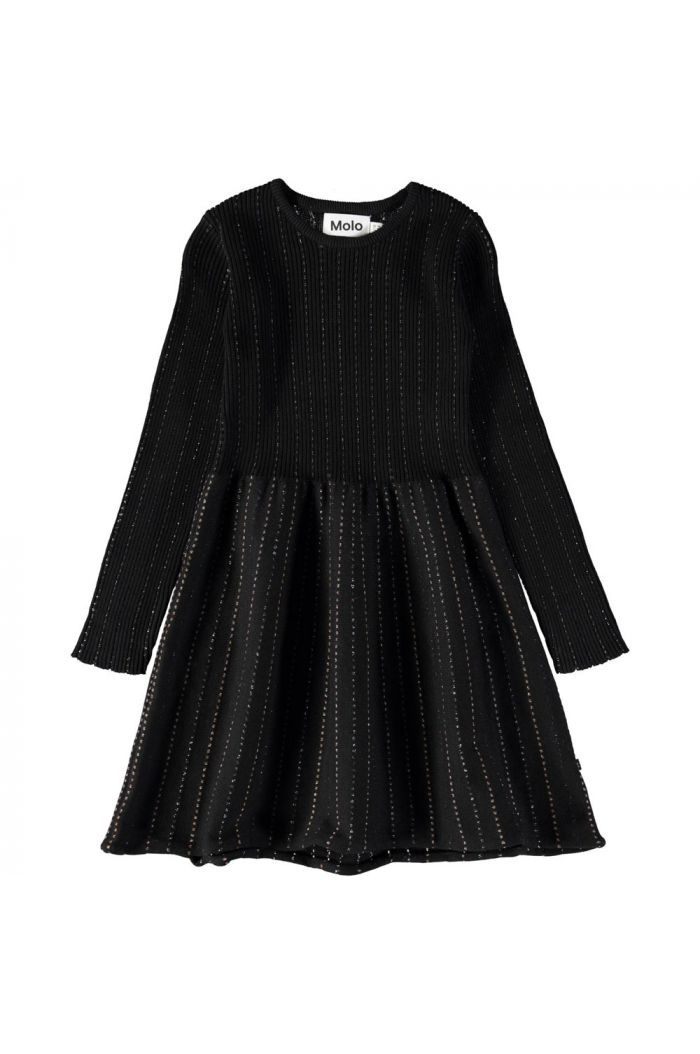 Molo Cameron Dress longsleeves Black