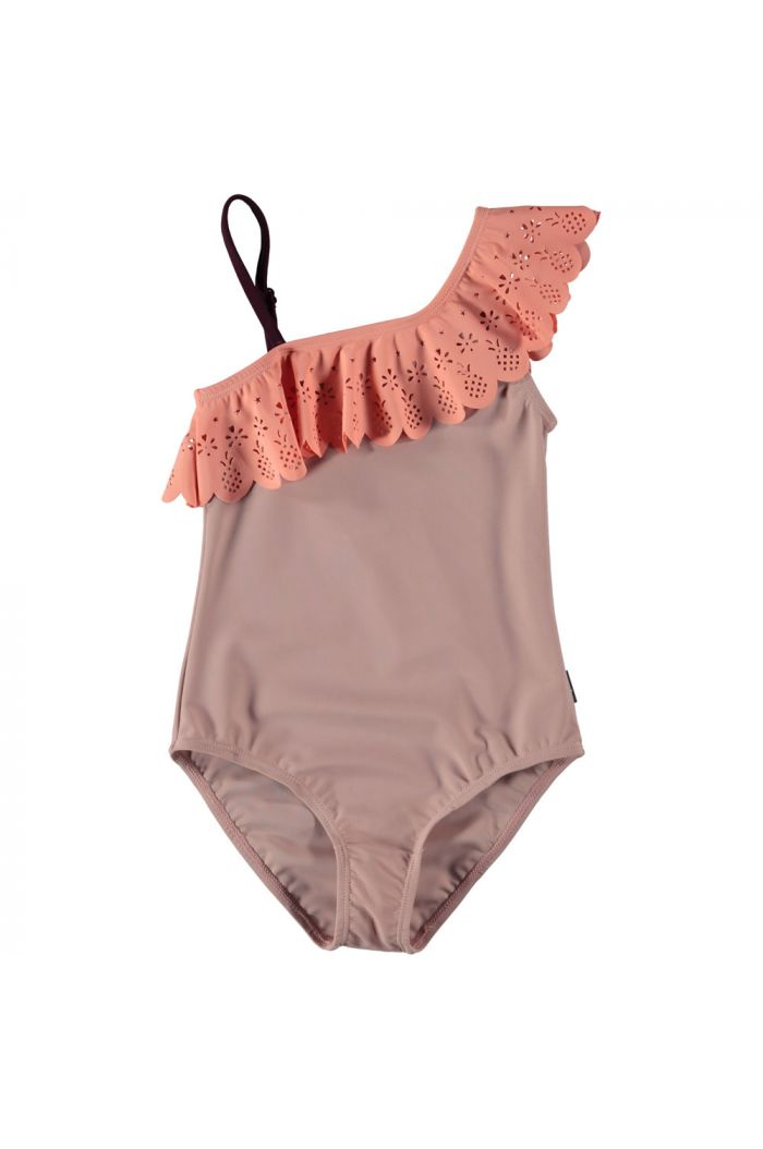 Molo Net bathingsuit Rose Sand