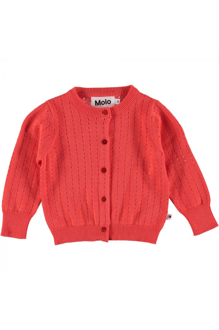 Molo Ginny - Cardigans Hot Coral
