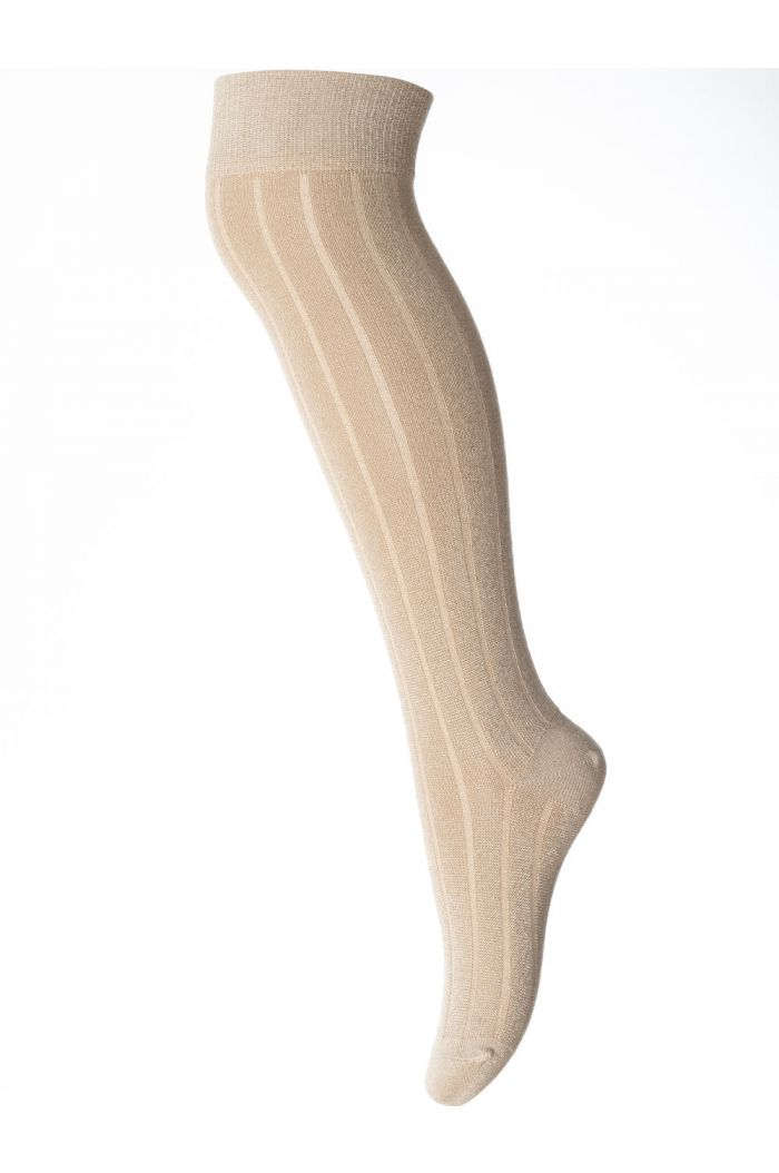 MP Denmark Helley Overknee socks 753 Gold