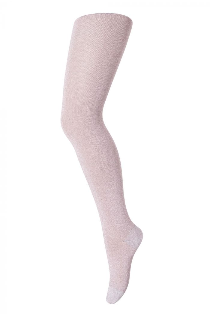 MP Denmark Tights cotton With Glitter 870 Rose Grey