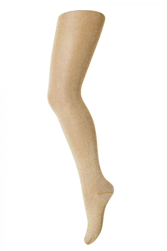 MP Denmark Tights cotton With Glitter 4062 Bronze