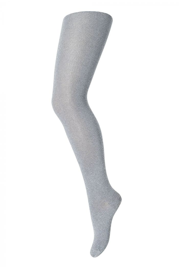 MP Denmark Tights cotton With Glitter 4222 Stone blue