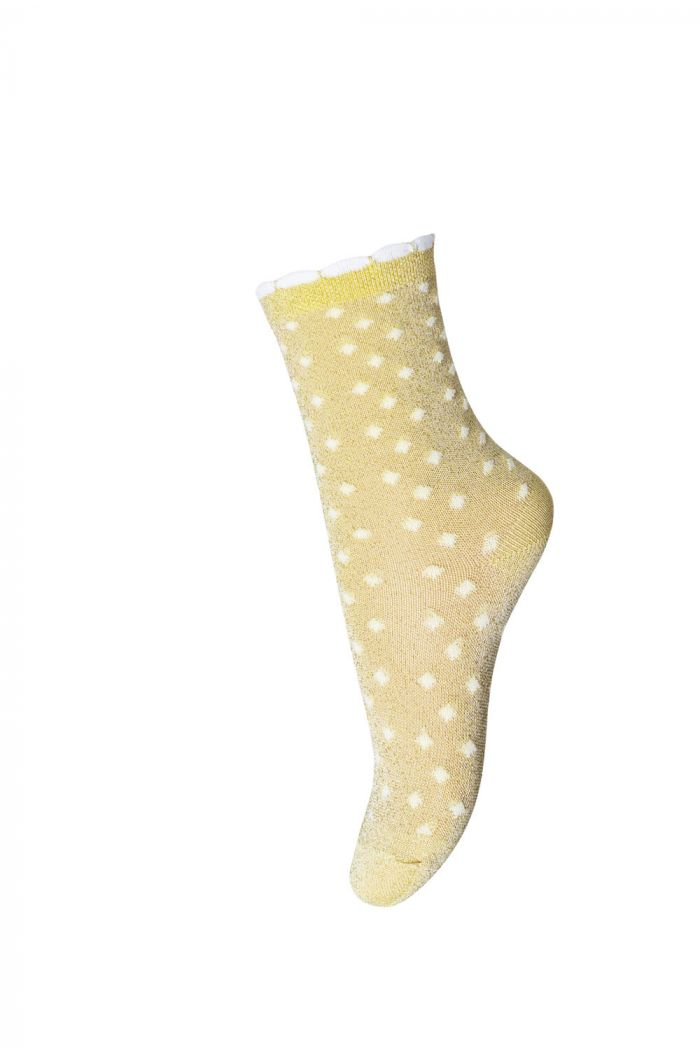 MP Denmark Ankle Lucy 2099 Yellow Dot