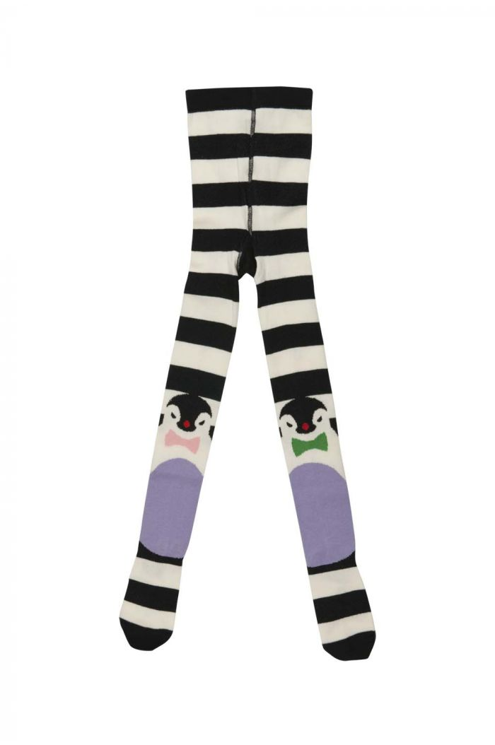 BangBang Copenhagen Artic Stripe Tights Black/White