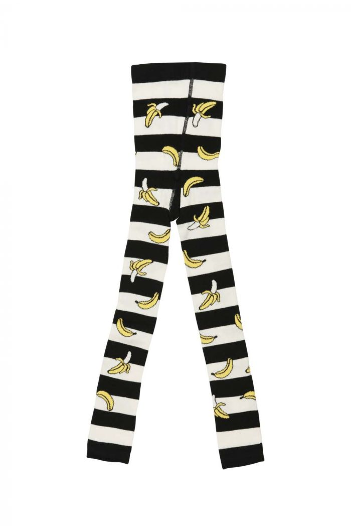BangBang Copenhagen Banana Rain leggings Black/White