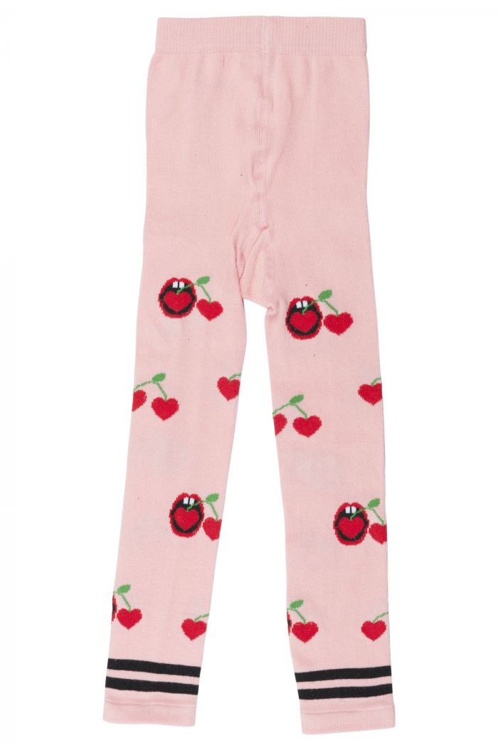Wauw Capow Cherry Snack leggings Pink