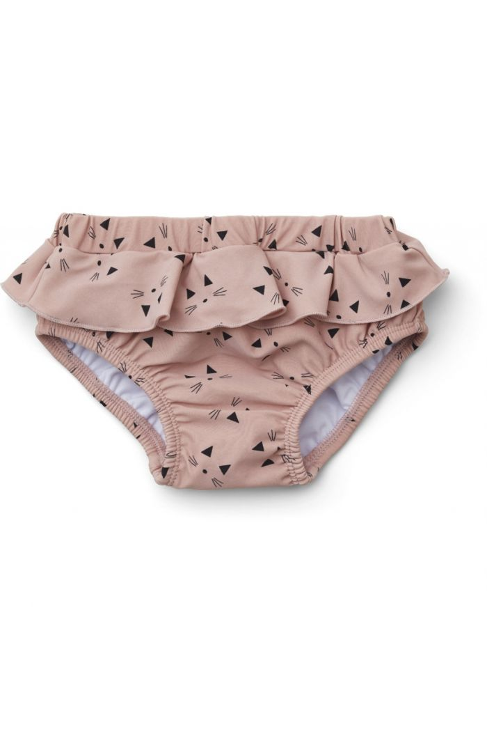 Liewood Elise baby girl swim pants Cat rose