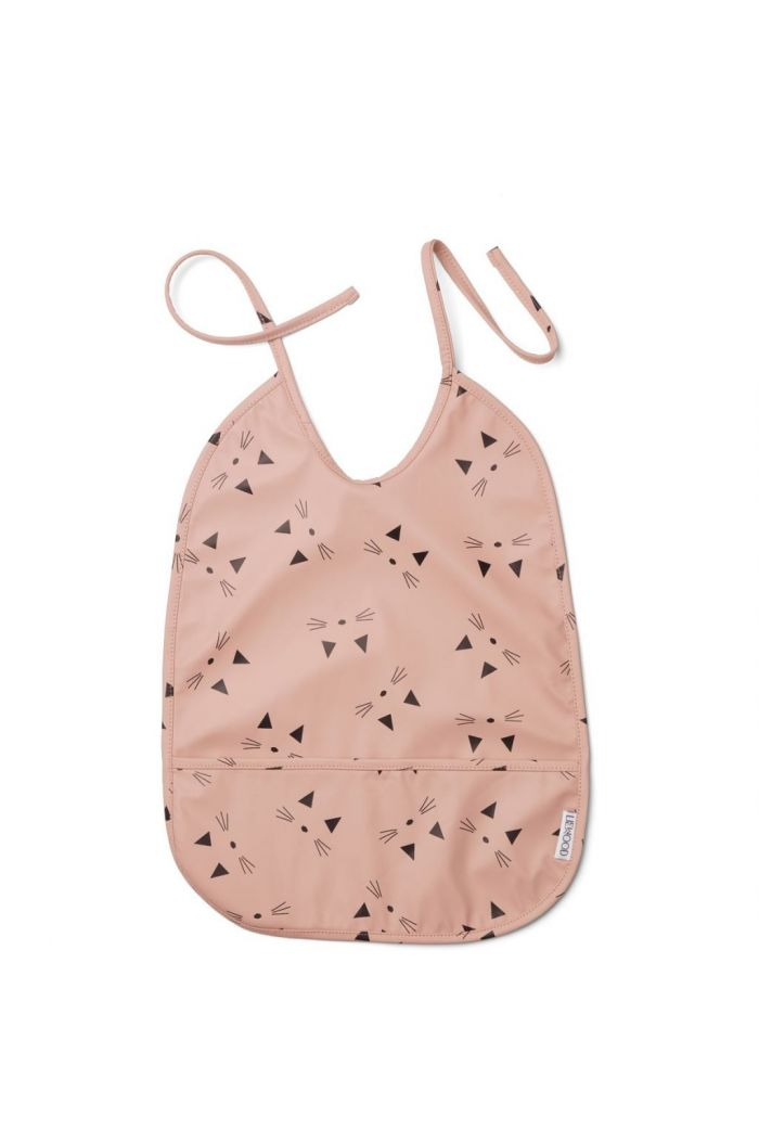 Liewood Tom Bib Cat rose