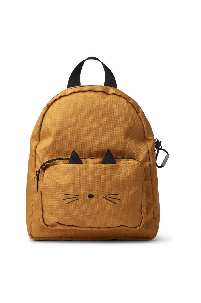 Liewood Allan Backpack Cat mustard
