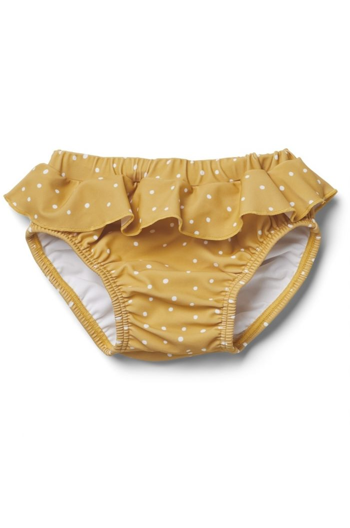 Liewood Elise baby girl swim pants Confetti yellow mellow