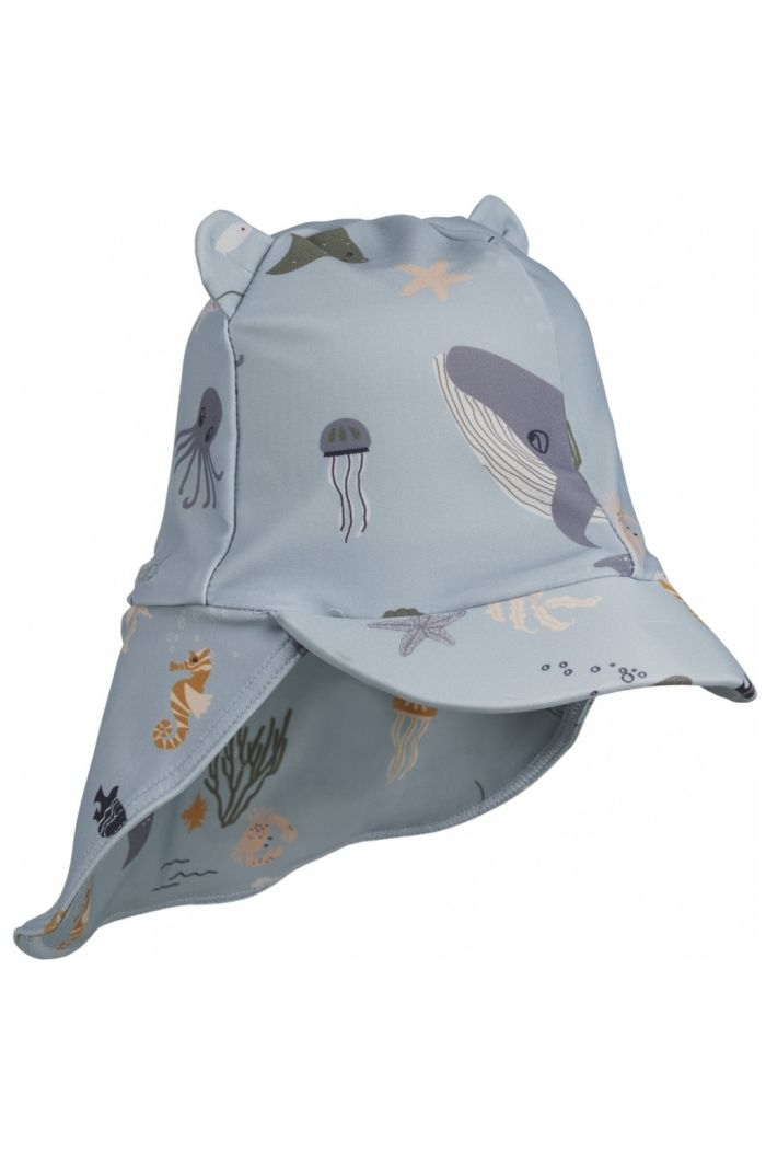 Liewood Senia sun hat Sea creature mix