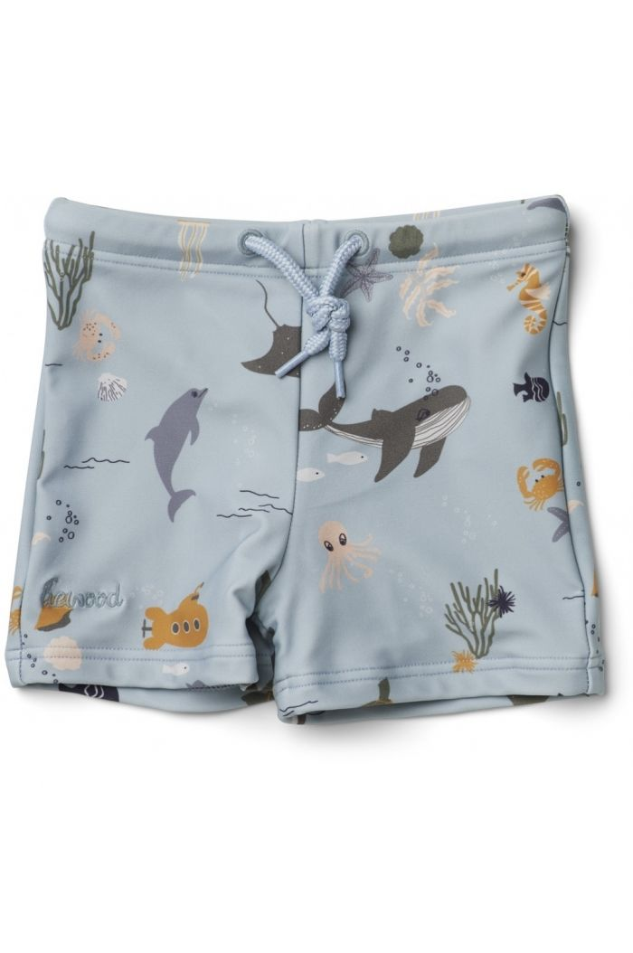 Liewood Otto swim pants Sea creature mix