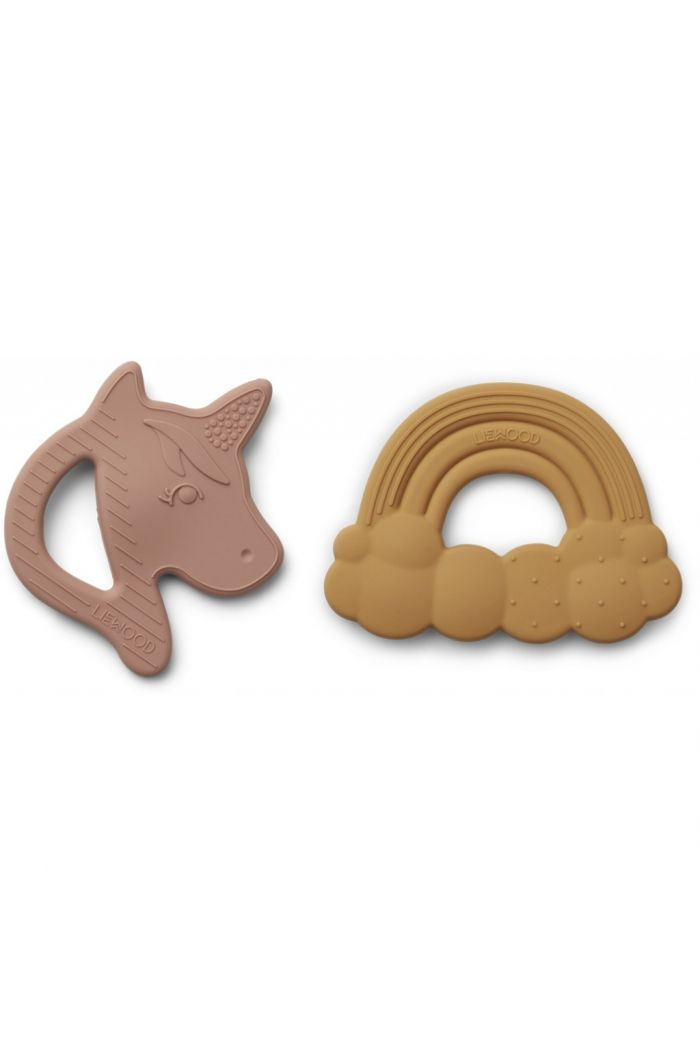 Liewood Roxie Silicone Teether 2-pack