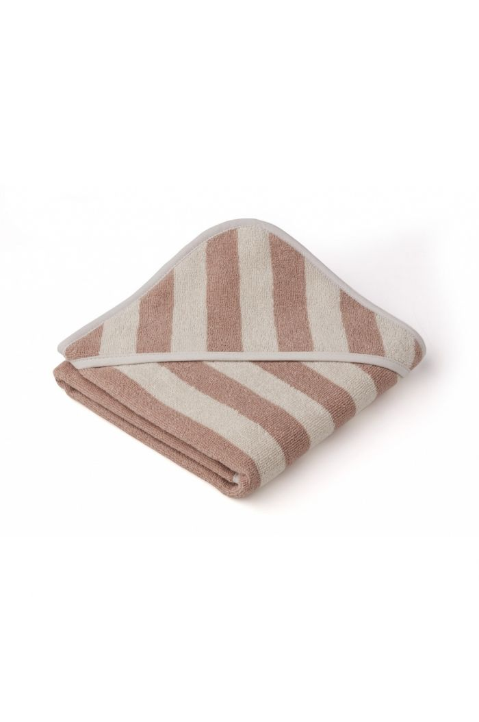 Liewood Alba Hooded Towel Rose / Sandy