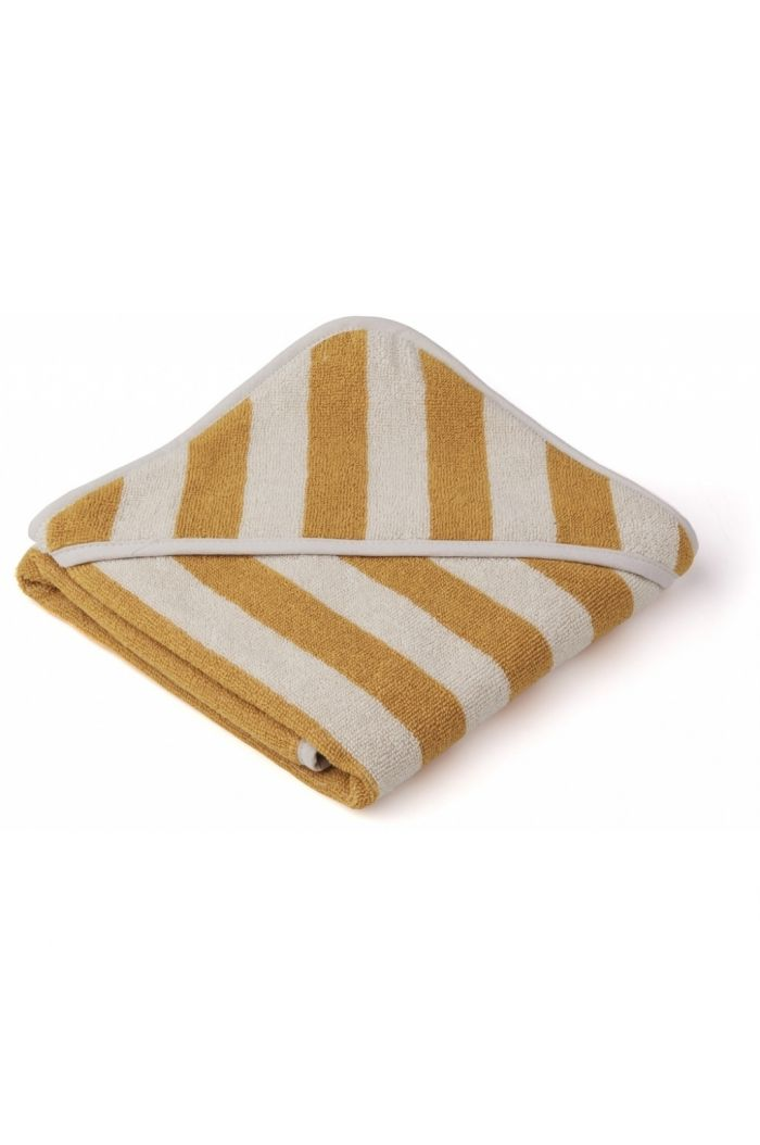 Liewood Alba Hooded Towel Yellow mellow / Sandy