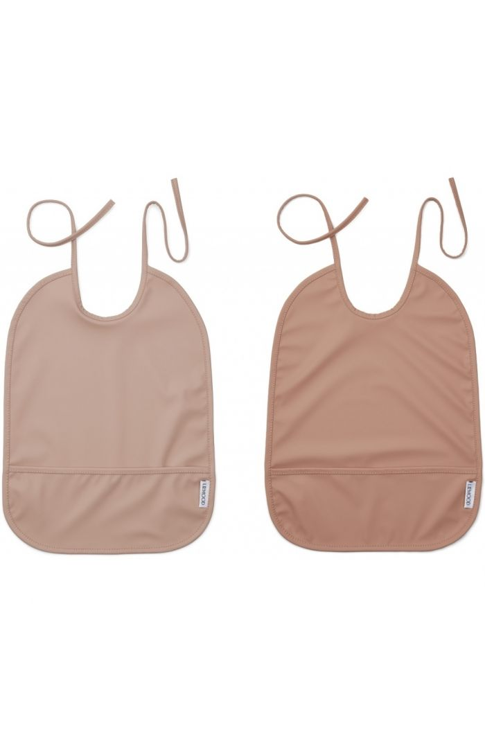 Liewood Lai Bib 2-pack Rose Mix