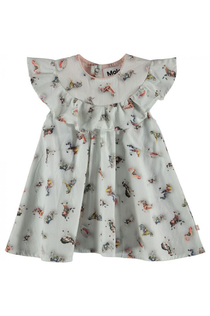 Molo Christal - Dress Short sleeve Mini Carousel
