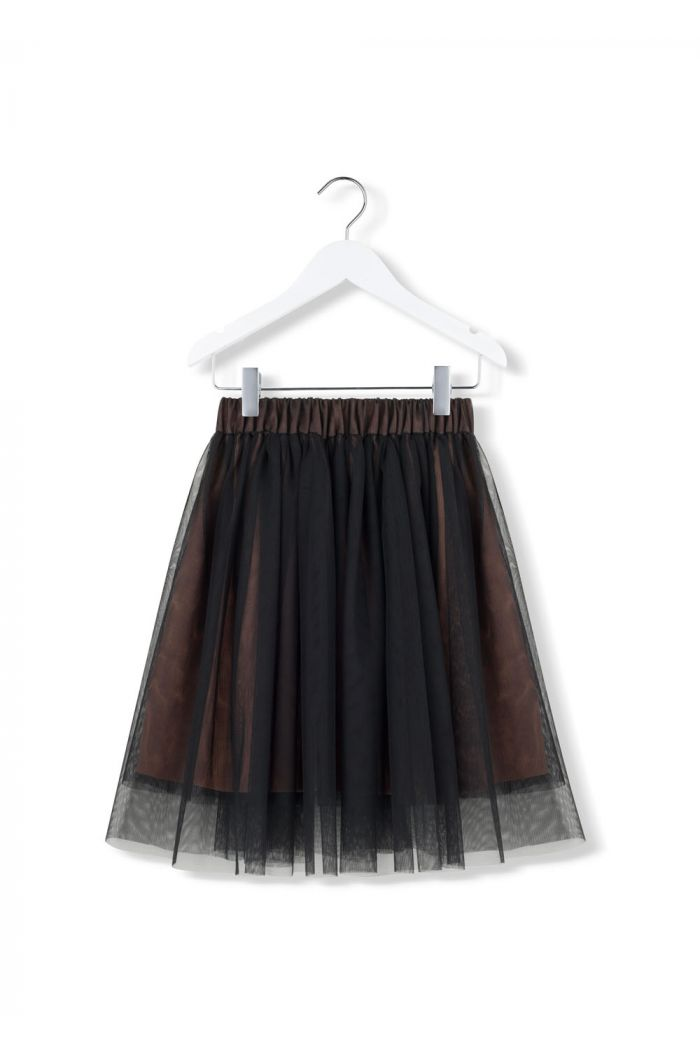 Kids on the Moon charcoal mist tutu