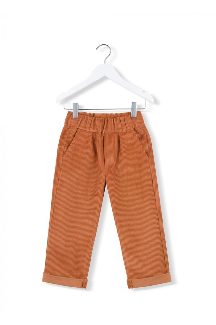 Kids on the Moon cord ginger pants