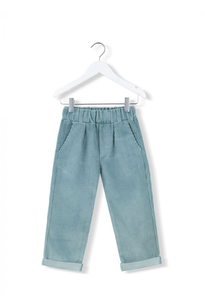 Kids on the Moon cord sky pants