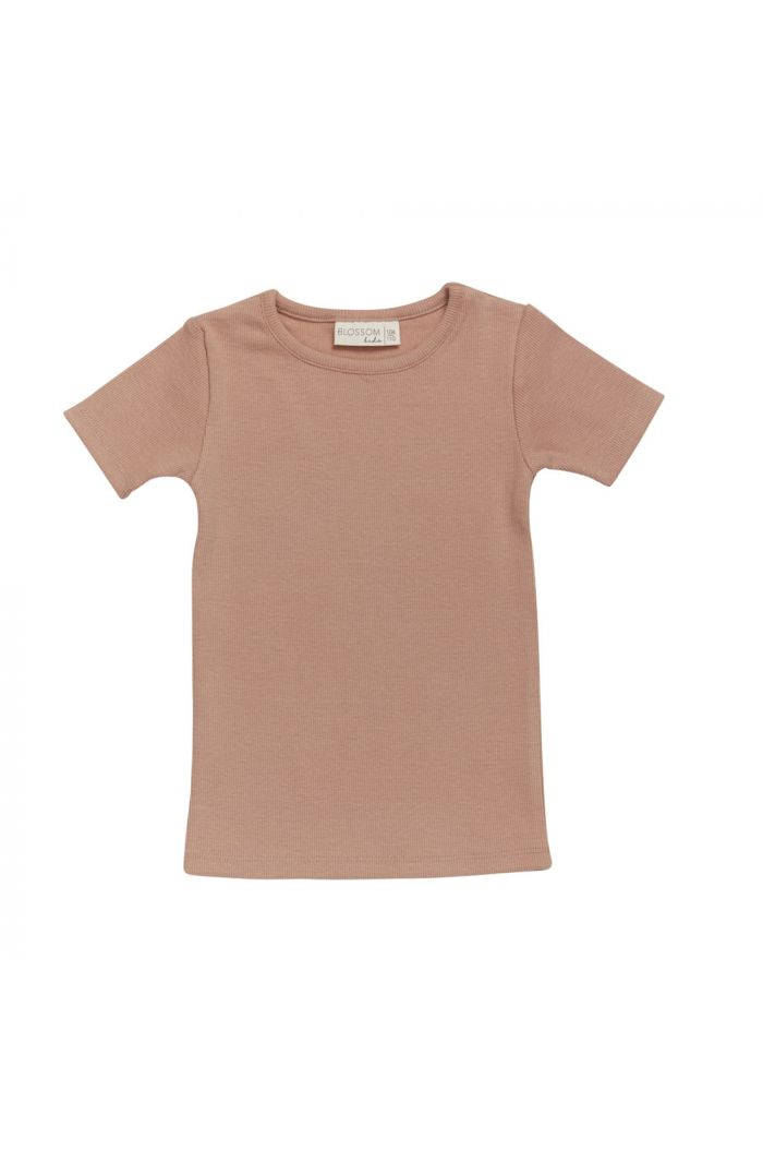 Blossom Kids Short sleeve shirt Toffee Blush