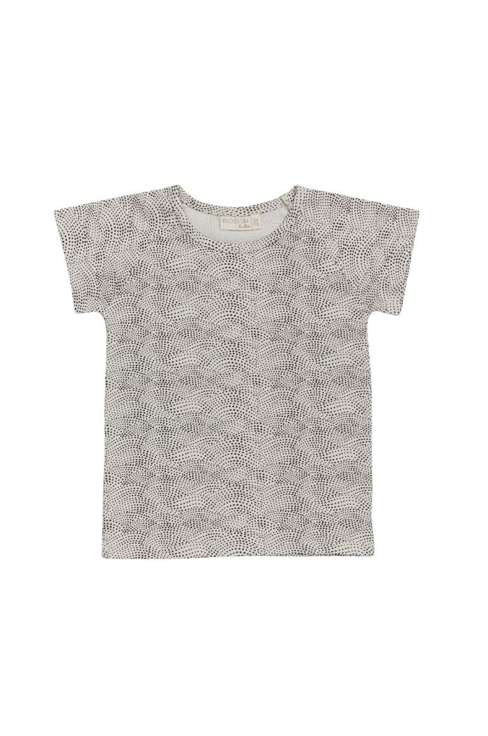 Blossom Kids Raglan short sleeve shirt Dotted Waves
