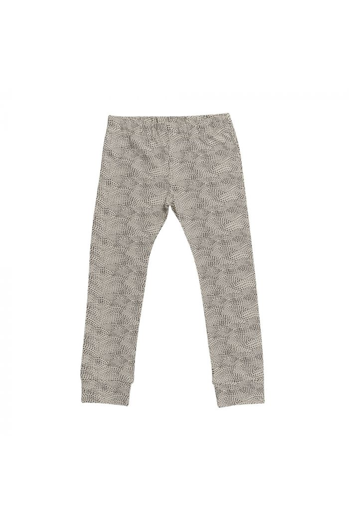 Blossom Kids Legging Dotted Waves - Chocolate Brown