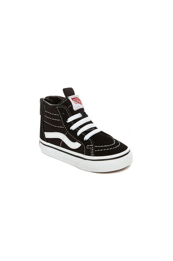Vans Toddler SK8-Hi Zip Black/White