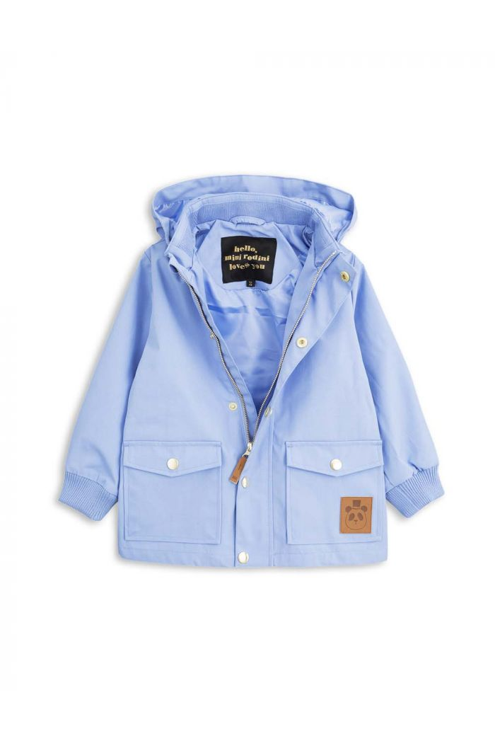 Mini Rodini PICO JACKET Light blue