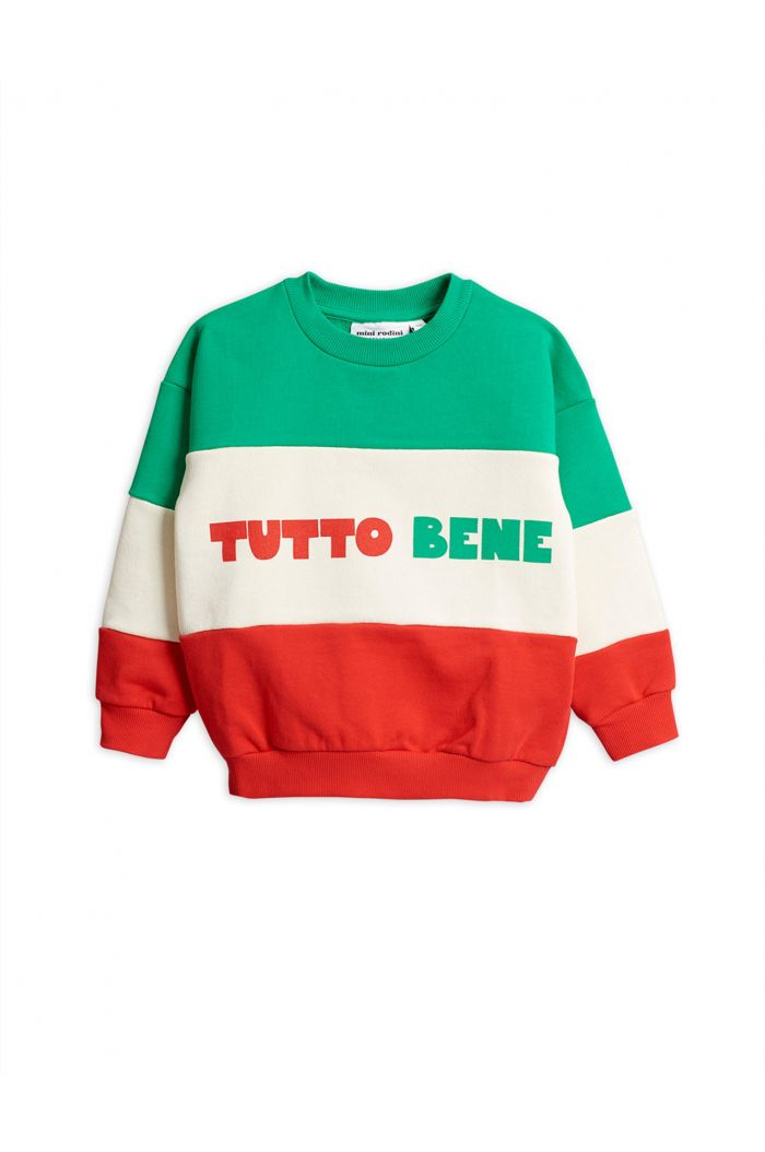Mini Rodini Tutto bene sweatshirt Red
