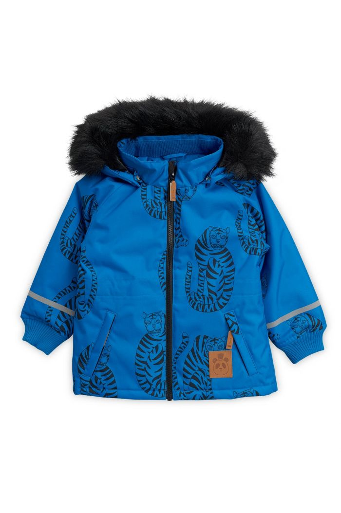 Mini Rodini K2 Tiger Parka Blue