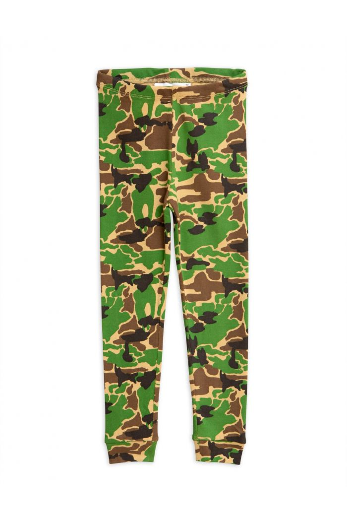 Mini Rodini Camo leggings Green
