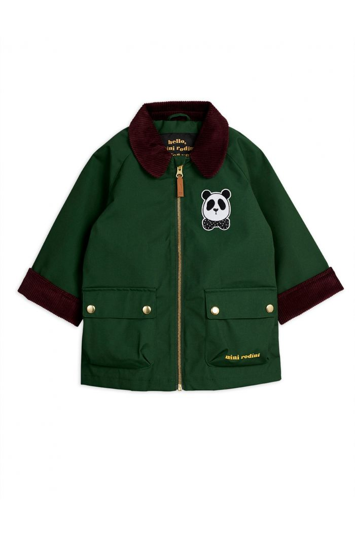 Mini Rodini Country jacket -LE- Dark green