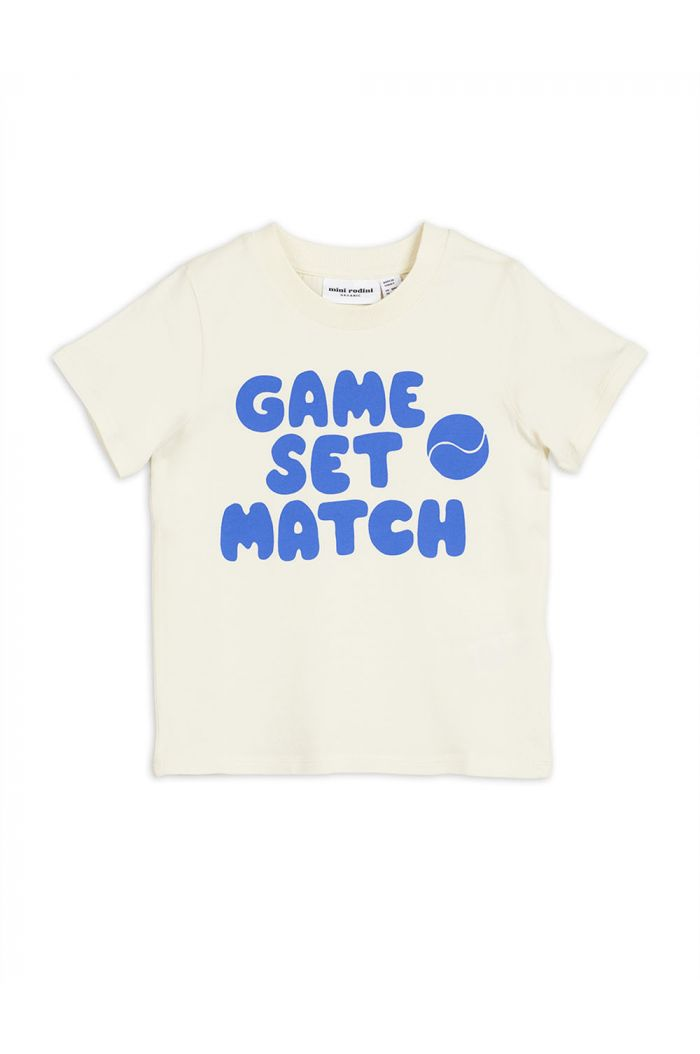 Mini Rodini Game single print tee Blue