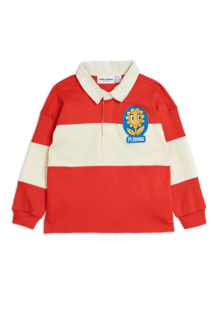 Mini Rodini Rugby shirt -LE- Red