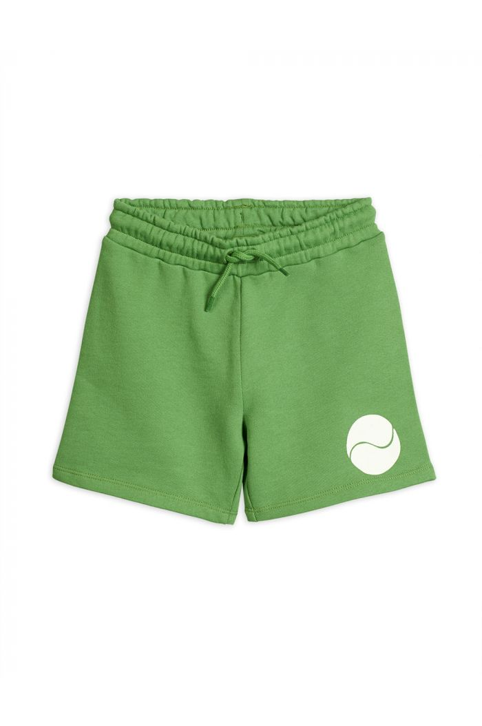 Mini Rodini Game single print sweatshorts Green