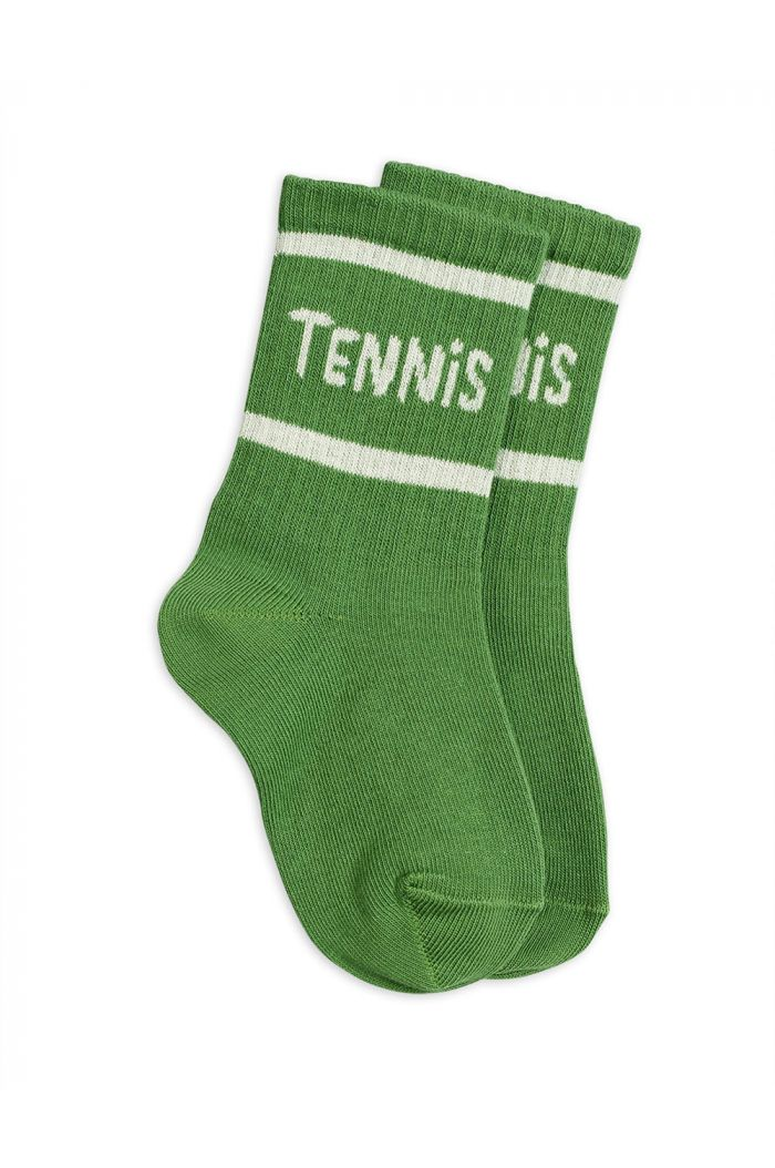 Mini Rodini Tennis socks single Green