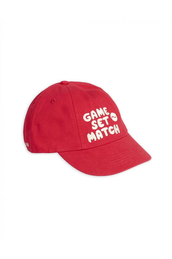 Mini Rodini Game set match cap Red