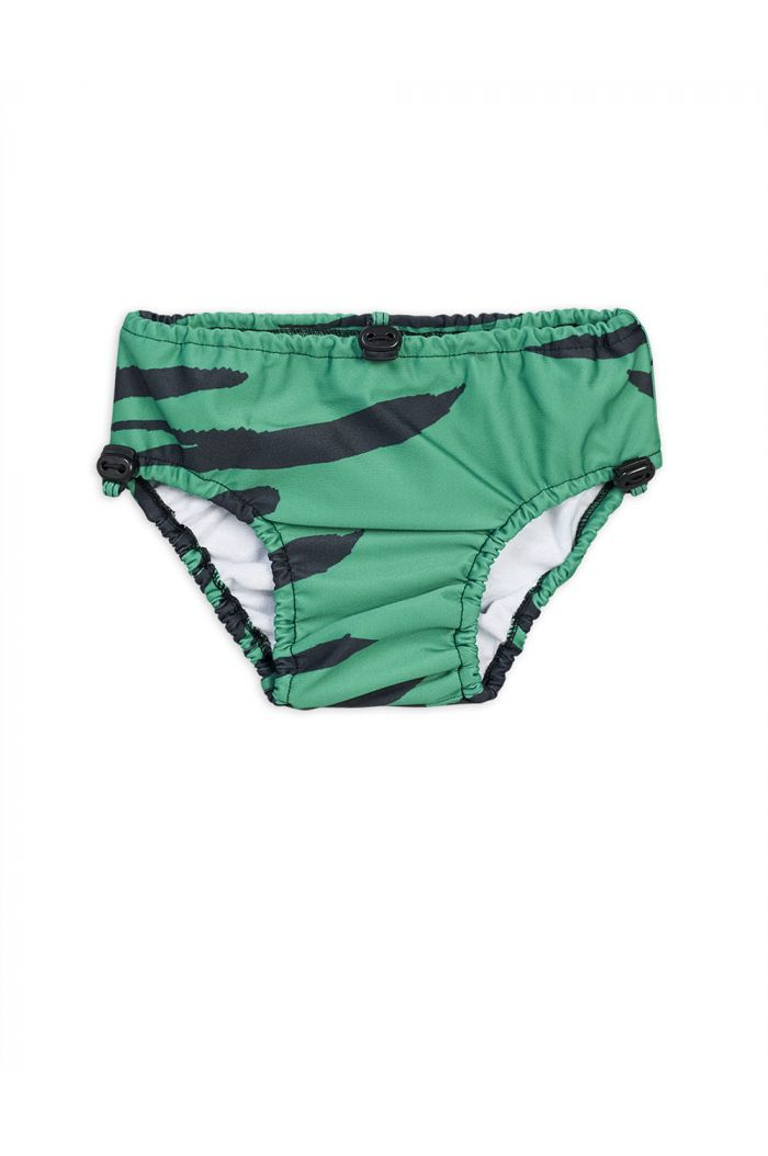 Mini Rodini Tiger baby swim pants Green