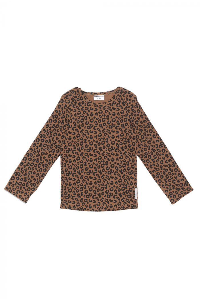 Maed for Mini Longsleeve Chocolate Leopard