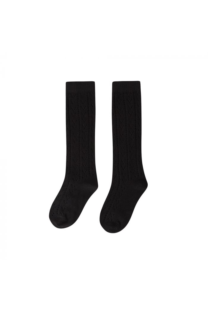 Maed for Mini Knit Socks Black Panther